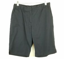 ed3467a3281c9 IZOD Approved Schoolwear Girls Plus Size 18.5 Shorts Navy Blue Adjustable  Waist