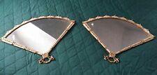 Vintage Pair Of Palladio Fan Shape Wall Mirrors