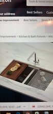 Double bowl under mount 16 gauge stainless steel kitchen sink