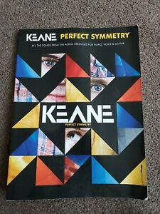 Keane -  Perfect Symmetry  - Guitar,Vocaby & Piano Sheet Music Book.Good Cond.
