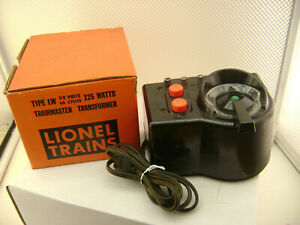 LIONEL TYPE LW TRAINMASTER TRANSFORMER 115v 60 CYCLES 125 WATTS TESTED & IT HUMS