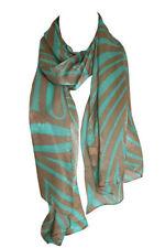Sciarpe, foulard e scialli da donna marrone 100% Seta