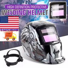 True Color Auto Darkening Welding Helmet Arc Tig Mig Mask Grinding Welder Hood