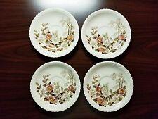 (Set of 4) Windsor Ware Johnson Bros England Saucer