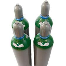50 Liter Gasflasche Argon 4.6 gefüllt für jedes WIG Schweißgerät Inverter AC DC