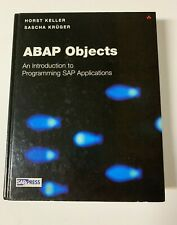 """ABAP Objects : Introduction to Programming SAP Applications by Keller, Horst """