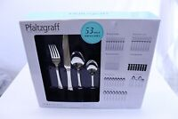 Pfaltzgraff Flatware Set 52 Pieces Serving for 8 Stainless Steel Simplicity