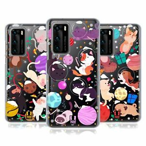 HEAD CASE DESIGNS CHRISTMAS IN SPACE SOFT GEL CASE FOR HUAWEI PHONES 4