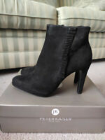 Peter Kaiser Pepina Black Suede Ankle Boots Size UK 6 RRP £168