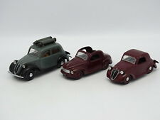 Brumm SB 1/43 - Set of 3 Fiat 500C 1100 Don't Discoverable and Gasifier