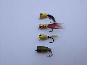 Vintage Bass Bug Fly Rod Popper Lures Creek Chub Old  Baits