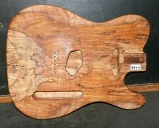 Telecaster Guitar Body / 5A Spalted Flame Curly Maple Wood / Custom 9947