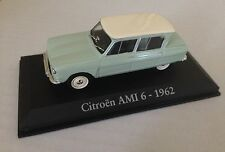 VOITURE MINIATURE de COLLECTION CITROEN AMI 6 - 1962 -   1/43  NOREV