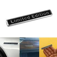 Black 3D Metal LIMITED EDITION Car Auto Rear Lid Fender Trunk Sticker Emblem C