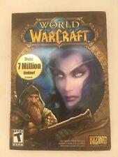 Blizzard World Warcraft Core Game CD-Rom Computer Adventure Gaming Windows Mac