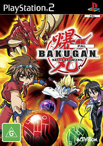 BAKUGAN PlayStation 2 Complete PAL Game Very Good Condition FREE SHIPPING