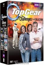 TOP GEAR CHALLENGES - 1 2 3 & 4 *** BRAND NEW & SEALED DVD BOXSET**