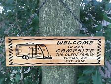 Wooden Camping Home Décor Outdoor Signsplaques For Sale Ebay