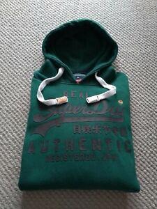 Superdry XXL Men's Hoodie Sweatshirt Green