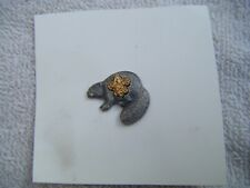 Vintage Silver Beaver Stirlin Silver Beaver Pin In Shape Of The Silver Beaver