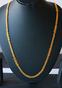22k Carat  gold plated  Long chain elegant necklace sets fashion JEWELRY