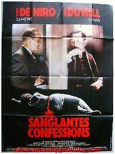 SANGLANTES CONFESSSIONS Affiche Cinéma / Poster DE NIRO