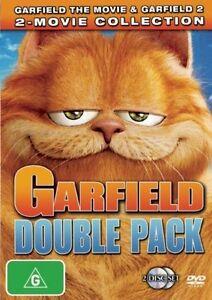 GARFIELD THE MOVIE & GARFIELD 2 - Double Pack - (2-disc DVD set, 2007)