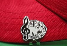 Music Notes Golf Ball Marker - W/Bonus Magnetic Hat Clip