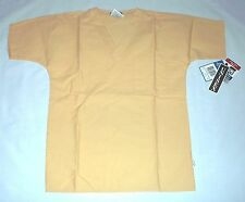 NEW Scrubs ~ Crest Unisex Scrub Top~ SMALL ~Corn Husk