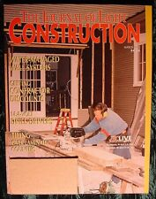 Construction Magazine JLC Journal of Light Getting Contractors Discount