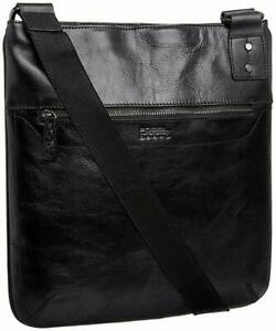 FOSSIL Leather Messenger Bag - BNWT!