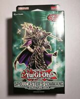 Spellcaster's Command Structure Deck Yugioh Brand New Factory Sealed