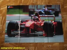 Michael SCHUMACHER (Ferrari) / Mika HAKKINEN (McLaren) - poster cca 8xA4 Format