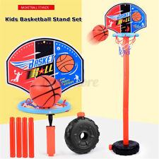 Kids Adjustable Mini Basketball Hoop Stand Outdoor Indoor Sports Games Toy Gift