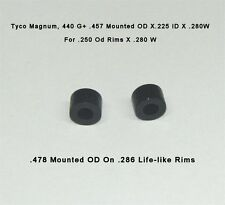 16 .457 Slot Car Tires Tyco Magnum 440X2 G+ Lifelike Silicone Firm Ultra C2