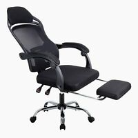Ergonomic Racing Gaming Office Chair Swivel Computer Desk Seat Recliner Footrest