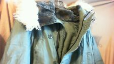 US Army Military Extreme Cold Weather, Foliage Green Parka Coat, Large