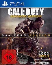 Call of Duty: Advanced Warfare-Day Zero EDITION PS 4 100% UNCUT
