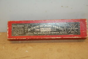 """Vintage IRWIN Expansive Bits No 1 5/8"""" to 11/2"""""""