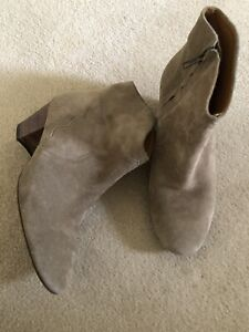 Isabel Marant Dicker Booties Boots Suede 37 France