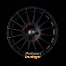 4 Cerchi in lega OZ SUPERTURISMO GT matt black + red famous 6x14 et15 4x108 ml65, 1