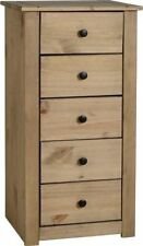 Teen's Bedroom Pine 5 Chests of Drawers