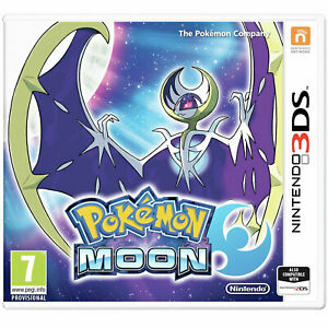 Pokemon Moon 3DS NINTENDO New and Sealed UK STOCK also works on 2DS and XL