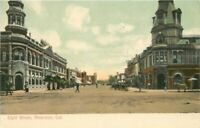 C-1910 Eight Street Riverside California Newman undivided Postcard 20-8284