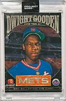 DWIGHT GOODEN 2020 TOPPS CARD NEW YORK NY METS SLABBED UNCIRCULATED SEALED