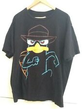 Disney Store Phineas & Ferb PERRY Mens T-Shirt XL Extra Large Organic Cotton