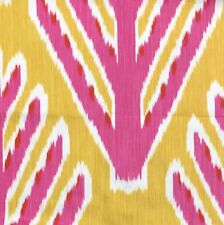 SCHUMACHER Bodhi Tree Yellow Pink Central Asian Cotton Remnant New
