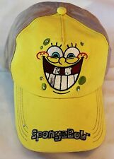 Sponge Bob Yellow Baseball Cap Sports Hat Ladies Youth One Size Adjusts