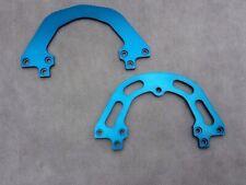 Pace Vintage RC35 MXC suspension Fork Bridges. Blue