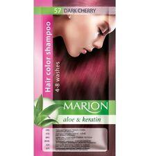Marion Hair color shampoo sachet (lasting 4-8 washes) Aloe & Keratin 57